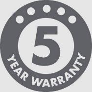 Надежность норвежского качества - 5 лет гарантии на Luxo L-1