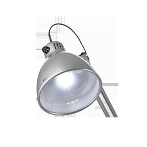 Настольная лампа Luxo L-1 LED – изменение яркости одним нажатием