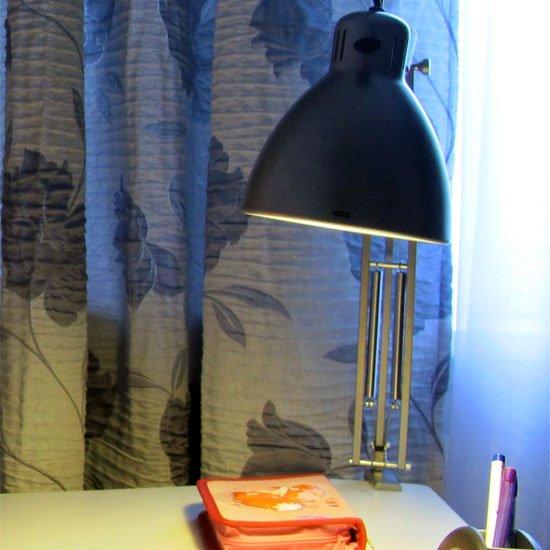 """Елена Лушенкова - отзыв о настольной лампе luxo l-1– """"она предназначалось в длительное пользование моему ангелу — первоклашке, моей дочурке"""""""