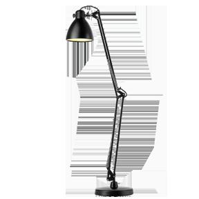 Профессиональная настольная лампа Luxo L-1 для работы за большим столом